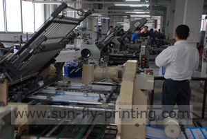 folding machine of china printing manufacturer