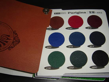 Leather material of china printing
