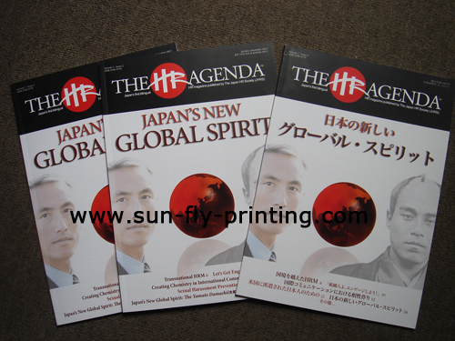Quarterly magazine manufacturer