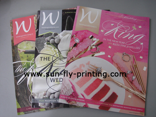 Wedding magazine printing