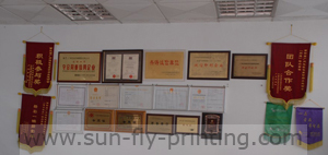 Sun Fly Printing factory